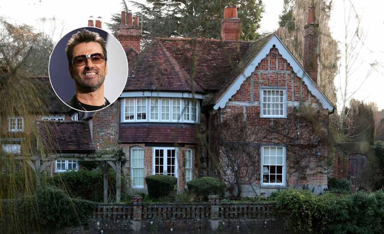 George Michael's 16th century house sold for £3.4 million